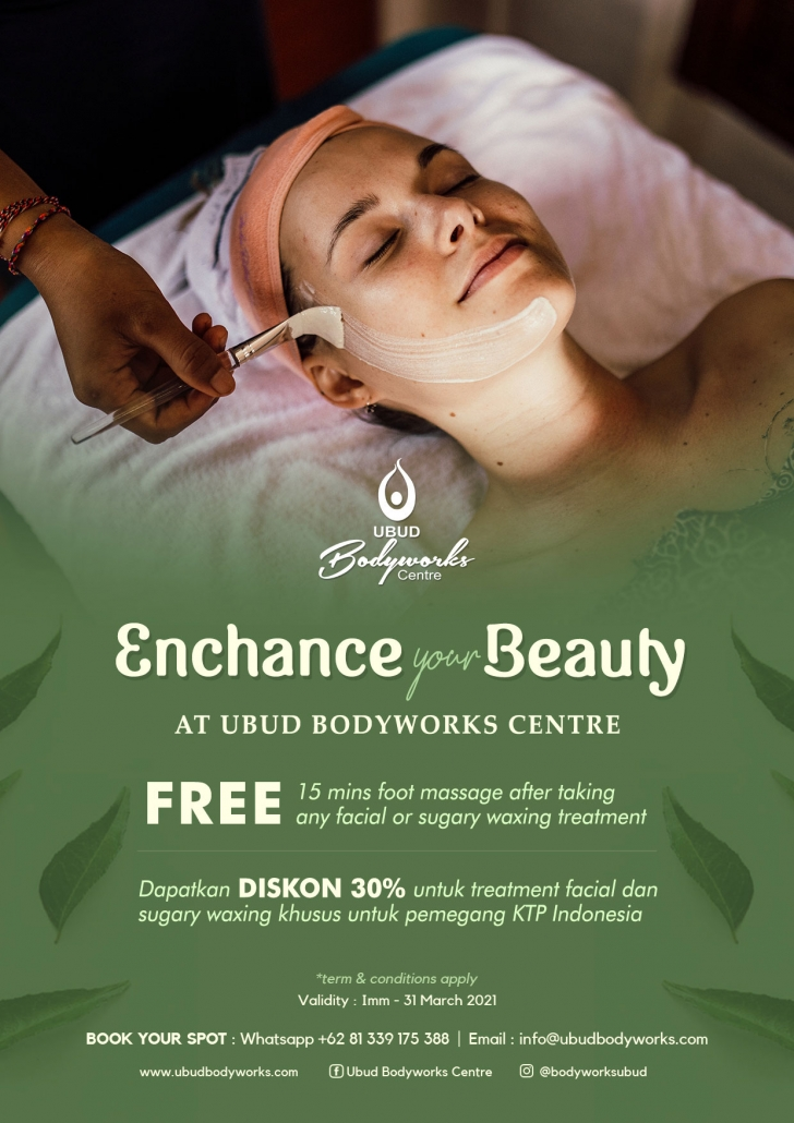 spa promotion at ubud bodyworks
